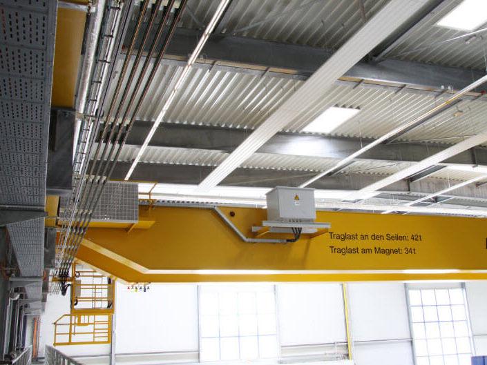 Crane Runway & Bridge Electrification System - Crane Power